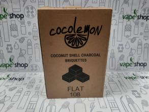Уголь для кальяна Cocolemon Flat 108 кубика